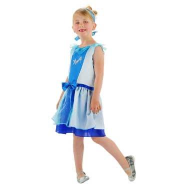Cinderella Prinsessenjurk - Assepoester - Cinderella de Luxe - maat S=98/116
