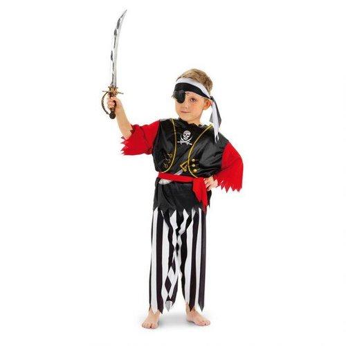 Folat Piraten kostuum de luxe 98/116, 116/134
