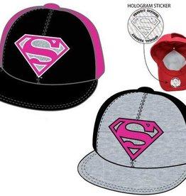 Superman Superman roze / zwarte cap - pet maat 56 - 58 cm