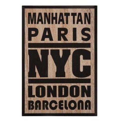Atmosphera Créateur d'intérieur® Muurdecoratie 38x58 cm Manhattan