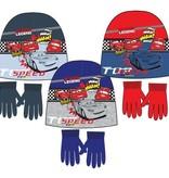 Cars  Cars winterset - muts, handschoenen maat 52, 54