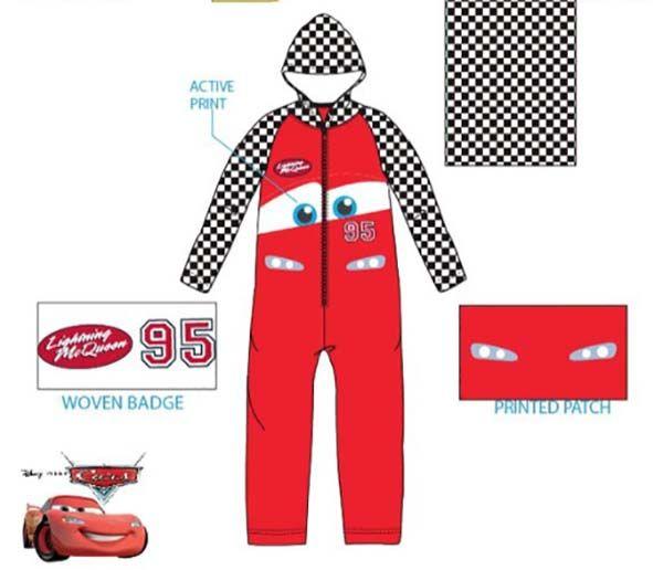 Cars  Cars onesie/pyjama  maat 92