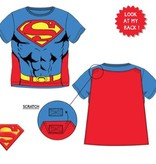 Superman Superman shirt met cape 98, 104, 116, 128