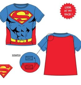 Superman Superman shirt met cape 98, 104, 116, 128