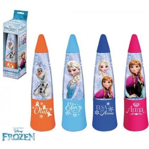 Disney Frozen glitter lava lamp