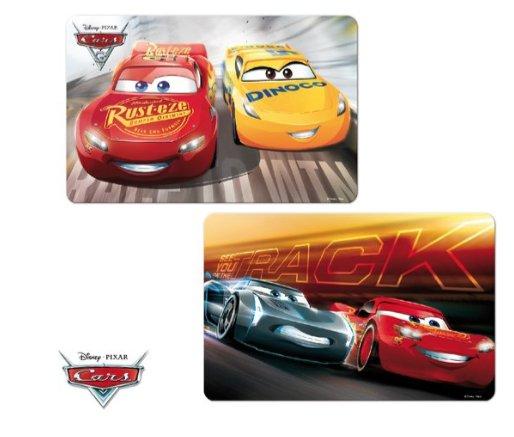Disney Cars 2 x 3D placemat