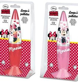 Disney Minnie Mouse glitter lava lamp
