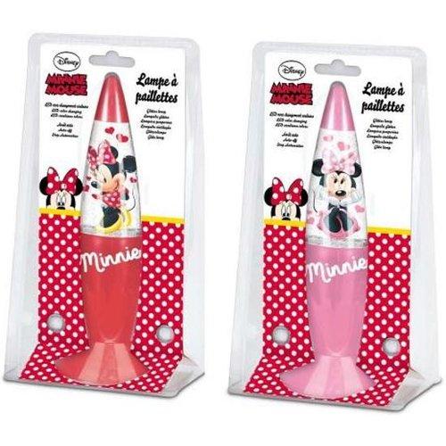 Disney Minnie Mouse glitter lava lamp