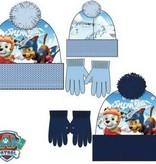 Paw Patrol Paw Patrol winterset - muts, handschoenen  maat 52, 54