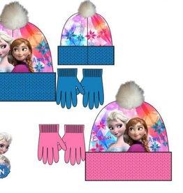 Disney Frozen winterset  muts, handschoenen