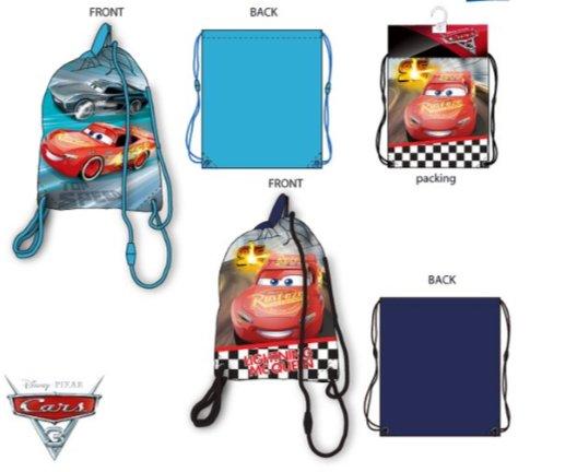 Cars  Cars gymtas  37,5 x 31,5 cm
