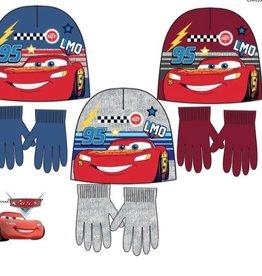 Cars  Cars wintermuts + handschoenen  + gratis sleutelhanger