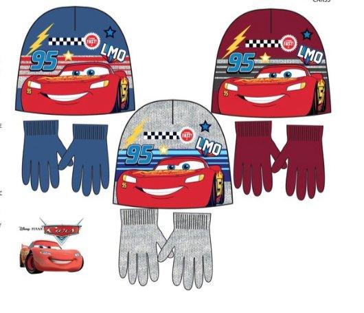 Disney Cars wintermuts + handschoenen