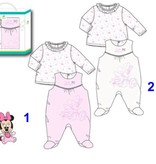 Disney Disney Minnie Mouse boxpakje + shirt  0, 1, 3, 6 maanden