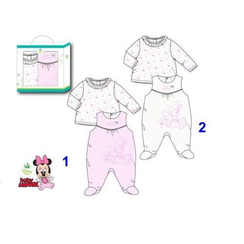 Disney Disney Minnie Mouse boxpakje + shirt  0, 1, 3, 6 maanden