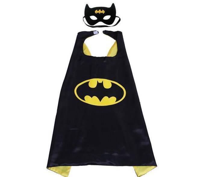 Batman verkleedpak  maat S, M, L
