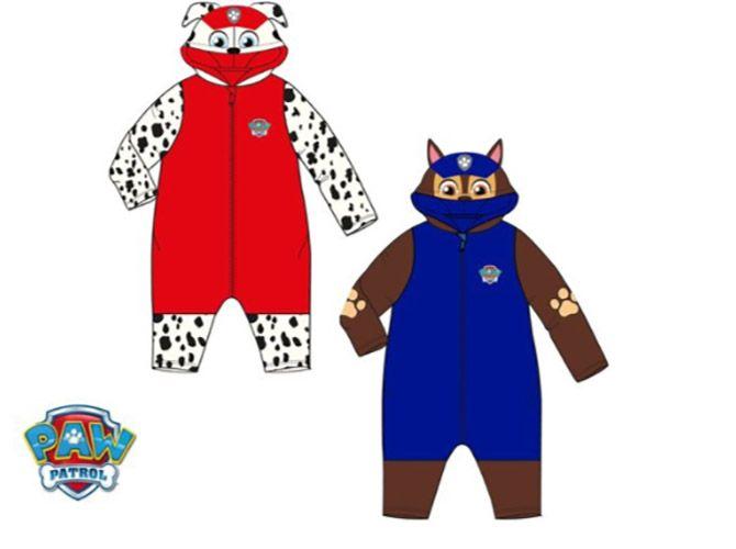 Paw Patrol Paw Patrol onesie/pyjama, 12, 18, 24, 36 maanden