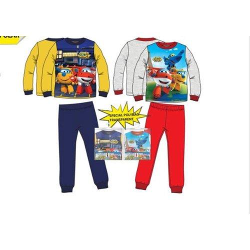 Disney Super Wings rode / gele pyjama maat  92/98
