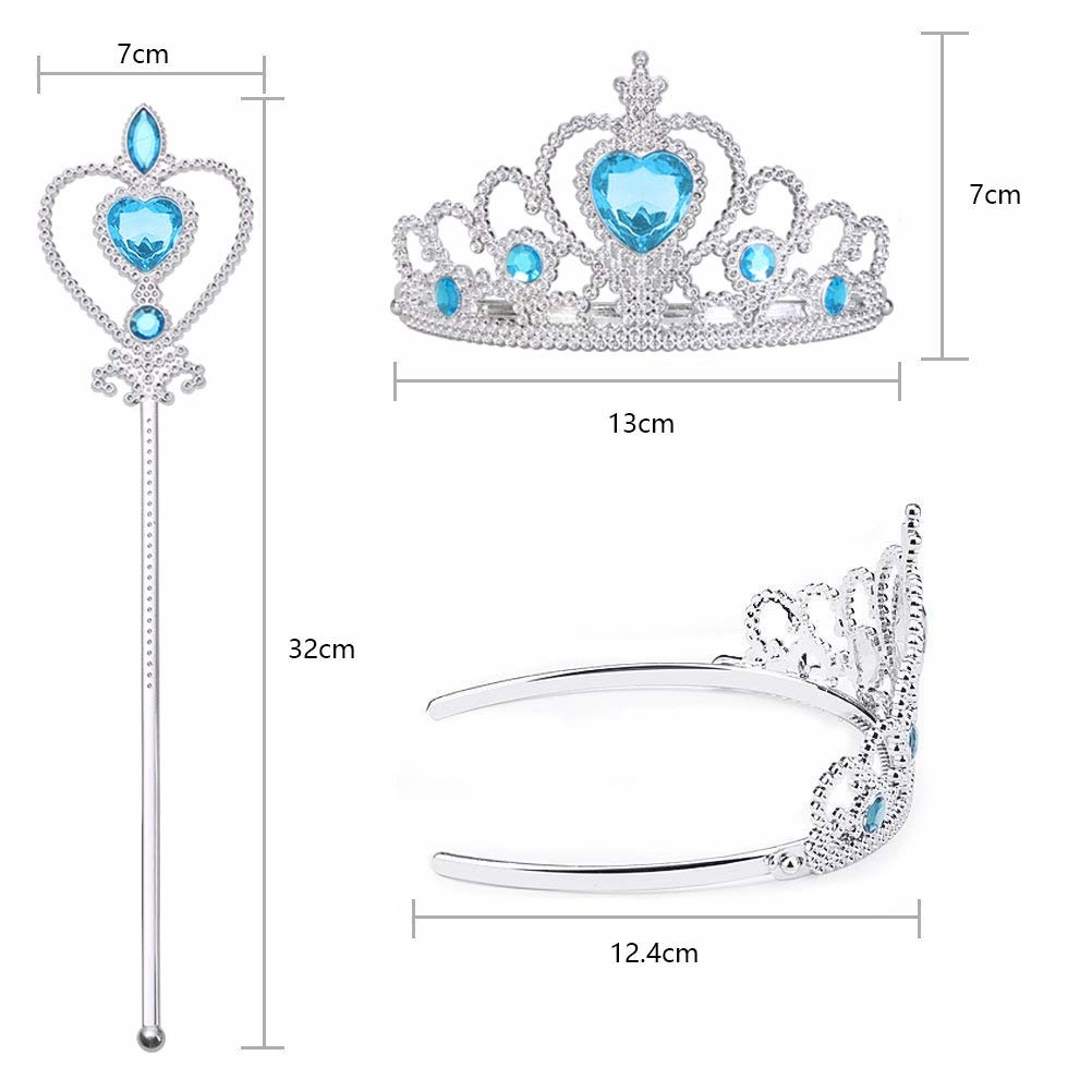 Frozen Elsa - prinsessen set - staf + kroon