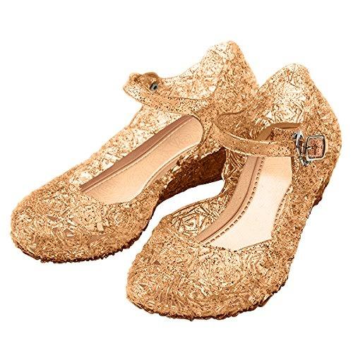 Prinsessen schoenen - goud maat 25, 26, 27, 28, 29, 30, 31, 32, 33, 34, 35