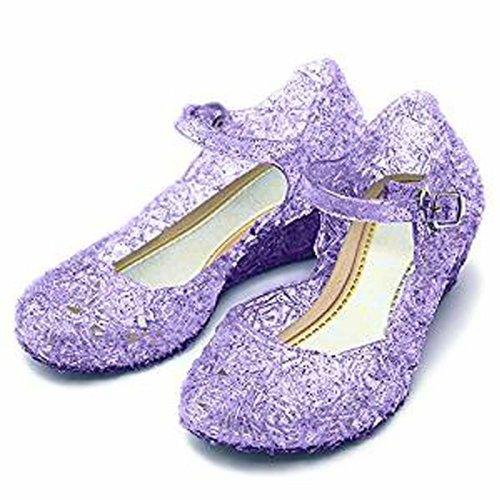 Frozen Elsa/Anna prinsessen schoenen - paars maat 30, 31, 32, 33, 34, 35