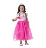 Prinsessenjurk - roze  86/92, 98/104, 110/116, 128/134, 140