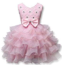 Prinsessenjurk - roze feestjurk