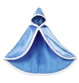 Prinsessen cape blauw