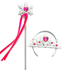Frozen prinsessen accessoire set - fuchsia