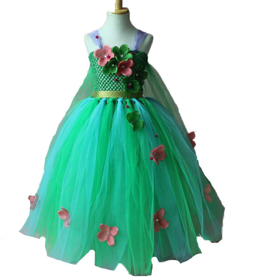 52101ea5735bb5 Frozen Fever Elsa groene prinsessenjurk - Het Betere Merk