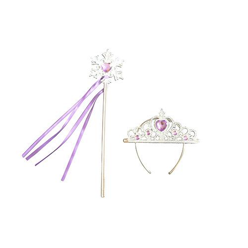Prinsessenjurk - paarse feestjurk  maat 86/92, 98/104, 110/116, 122/128  - Copy