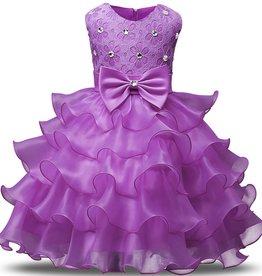 Prinsessenjurk - lila feestjurk