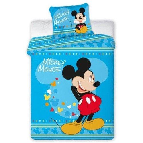 Mickey Dekbedovertrek Mickey Mouse  - fleece 160 x 200 cm