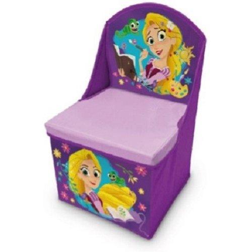 Disney Rapunzel opvouwbare opbergstoel L28 x L28 x H48 cm