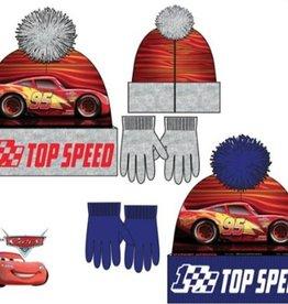 Disney Cars fleece wintermuts + handschoenen