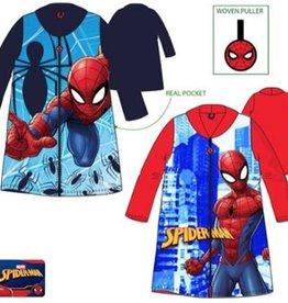 Marvel   Spiderman badjas - blauw - 98 - 3 jaar