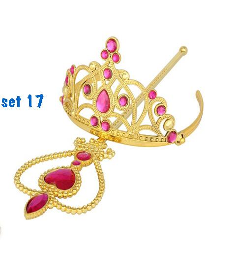 Prinsessenjurk - lange paarse feestjurk - communiejurk maat 110/116, 122/128, 134/140, 152, 158/164