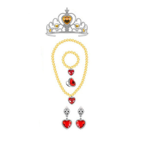 Prinsessen accessoireset  5-delig