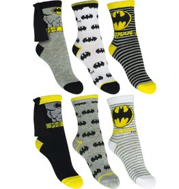 Batman Batman 6 paar sokken