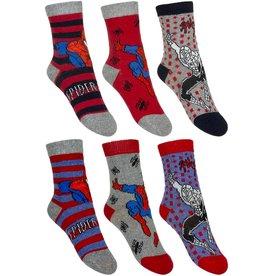 Spiderman 6 paar sokken