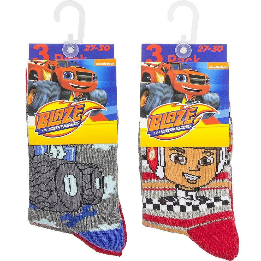 Disney Blaze 6 paar sokken mt 23/26, 27/30, 31/34