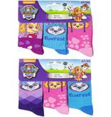 Paw Patrol sokken 6 paar + Gratis portemonnee  27/30, 31/34