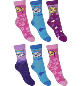 Paw Patrol sokken 6 paar + Gratis portemonnee