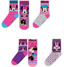 Minnie Mouse sokken 6 paar