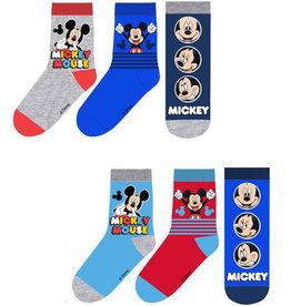 Mickey Mouse 6 paar sokken