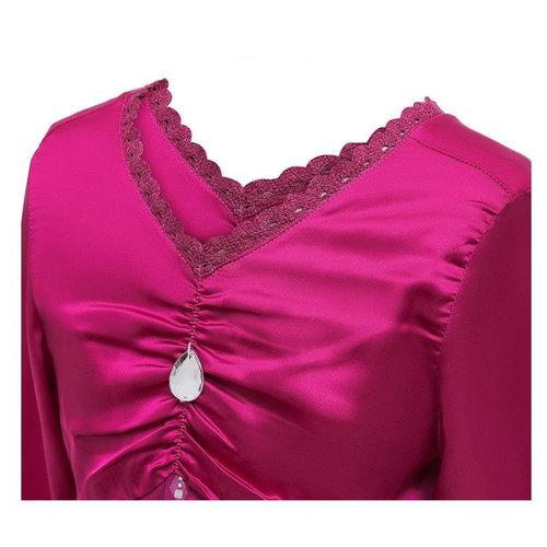 Frozen 2 Elsa roze jurk + gratis kroon + staf 104/110, 110/116, 122/128, 134/149, 146/152, 158/164