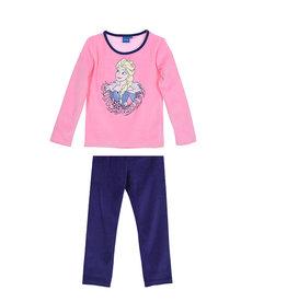 Disney Frozen pyjama coral fleece - roze