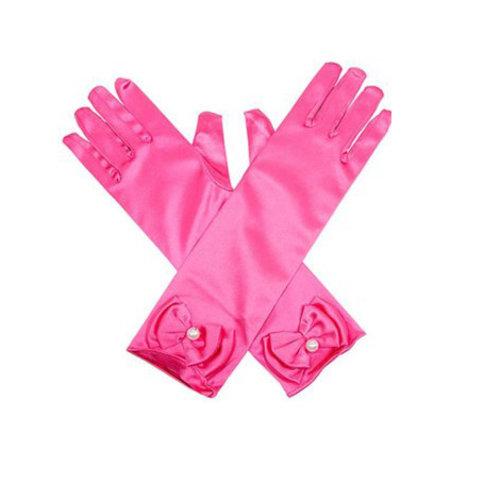Prinsessen lange elleboog handschoenen