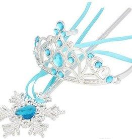 Frozen prinsessen accessoire set - blauw