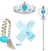 Frozen Elsa 4-delig accessoires set + gratis Frozen gymtas